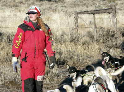 by: TIM STUMM/CENTRAL OREGONIAN - Come this March, Rachael Scdoris will become one the yougest mushers to compete in the Iditarod.