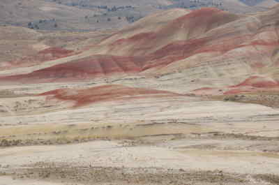 by: SCOTT STAATS/CENTRAL OREGONIAN - The Painted Hills unit of the John Day Fossil Beds display a variety of colors for visitors.