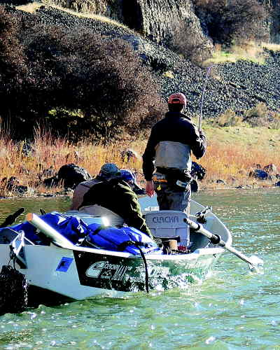 by: SCOTT STAATS/CENTRAL OREGONIAN - There's nothing quite like hooking a steelhead.