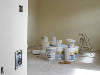 by: CENTRAL OREGONIAN - The paint chosen for the local Habitat for Humanity house is 100 percent recycled latex paint. While wanting to purchase products locally, coordinators chose this paint from MetroPaint of Portland because it is environmentally friendly and affordable at $20 to $44 per 5-gallon pail.
