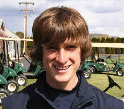 by: CENTRAL OREGONIAN FILE PHOTO - Nick Murrell is expected to be the Cowboys' No. 1 golfer this season.