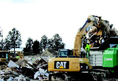 by: CENTRAL OREGONIAN FILE PHOTO - Crook County has received a $20,000 grant to help update its solid waste management plan.  Shown in the foreground is a newer shredder