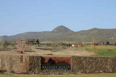 by: KEVIN GABOURY/CENTRAL OREGONIAN - Brasada Ranch, located in the southwest corner of the county, is the only destination resort approved for building. As Crook County's largest taxpayer, it contributed over $290,000 to the county's tax base for the 2008-2009 season.
