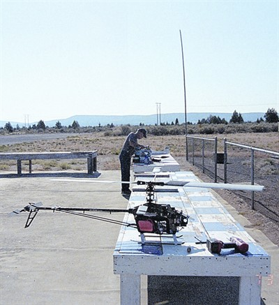 by: CONTRIBUTED PHOTO - When Crook County sold a portion of its land to Apple, it displaced the Crook County Radio Control Club who used the land (shown here) to fly their model aircraft.