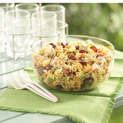 by:  - Garden Ranch Pasta Salad