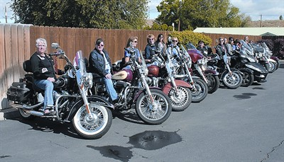 by: JASON CHANEY/CENTRAL OREGONIAN - Women motorcycle enthusiasts from locations throughout Washington, Idaho, and Oregon held their West Coast Gathering in Prineville this past weekend.