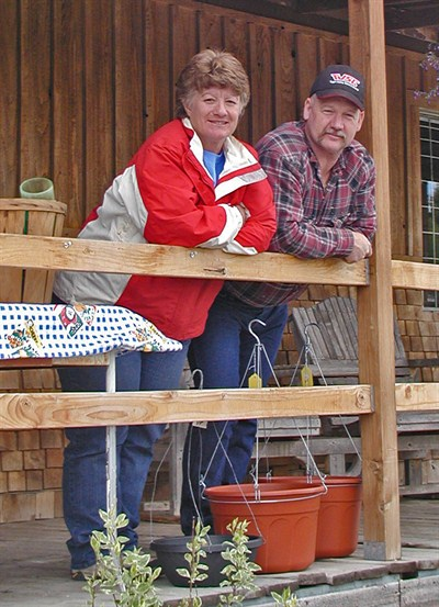 by: RON HALVORSON/CENTRAL OREGONIAN - High Desert Treasure Hunters Trudy and Rocky Smith