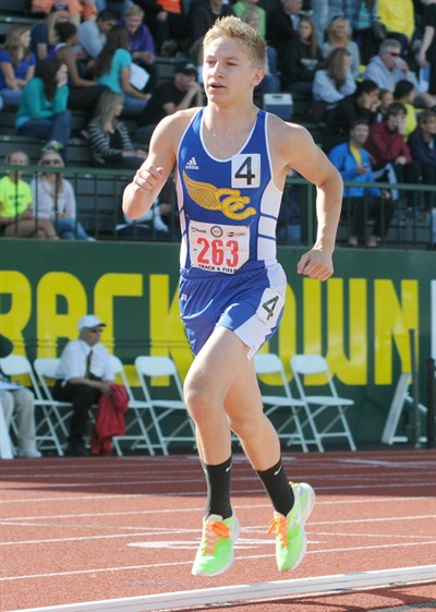 by: LON AUSTIN/CENTRAL OREGONIAN - Grayson Munn is expected to lead a young Crook County distance core next season. The sophomore qualified for state this past year in both the 1,500- and 3,000-meter races.
