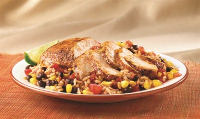 by:  - Southwest Skillet Chicken and Rice