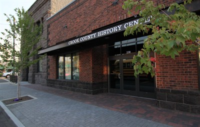 by: CONTRIBUTED PHOTO - The Crook County History Center was one of nine projects in Central Oregon that won the Heritage Project of the Year award this year