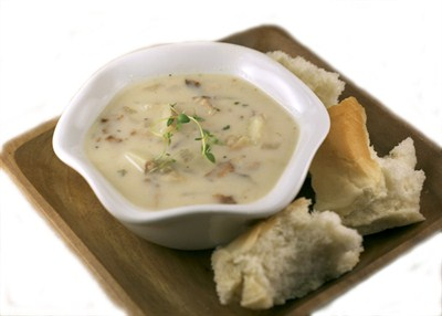 by:  - New England Clam Chowder