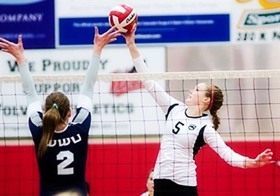 by: LON AUSTIN/CENTRAL OREGONIAN - Crook County graduate Krissi Kemper, who is currently playing volleyball at Western Oregon University, was recently named a third-team All-American by the American Volleyball Coaches Association.