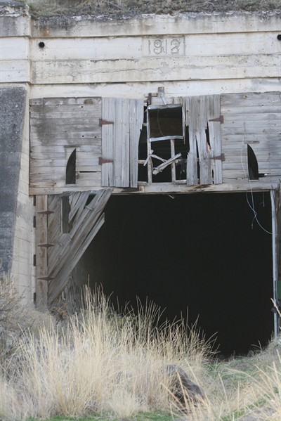 by: Photo by Joe McHaney - The body of a Seattle man was found inside an old, abandoned rail tunnel near Warm Springs on May 30.