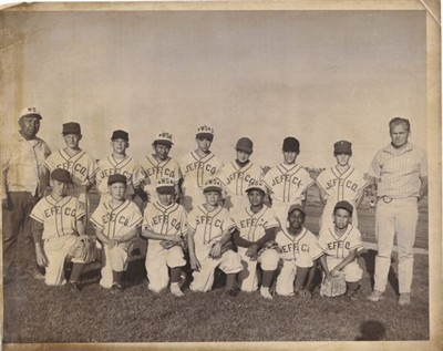 by: Submitted photo - The 1964 Little League Majors squad included, back row from left, Coach Ed Spino, Jerry Allen, Dennis Keeton, Junior Patt, Joe Stensgar, Gary Snow, Dick Ashby, Ray Thornton and Coach Dick Souers, and front row, Eugene Van Orsow, Doug Utter, Paul Reutlinger, Kelly Ceniga, William Stacona, Willie Fortson and Dennis Smith.