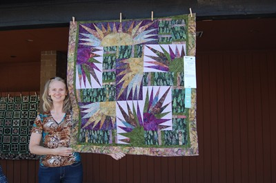 by: Submitted Photo - Madras quilter Katherine Weaver displayed three of her quilts in the Sisters Quilt Show last weekend, including
