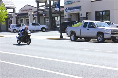 by: Photo by Joe McHaney - Brent Lee Waldorf, 21, led police on a chase that lasted about 75 miles Monday, and included speeds approaching 60 miles per hour along Fifth and Fourth streets in Madras.