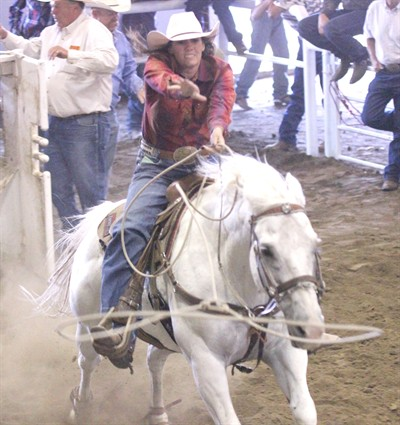 by: Photo by Joe McHaney - The annual Jefferson County Rodeo drew large crowds for the two-day performance last week.
