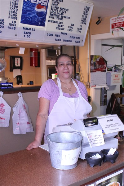 by: Photo By Susan Matheny - Arcelia Chavez is the lead cook at Pepe's Mexican Restaurant, which she and her husband own. Pepe's is looking for a new location and Rio Distinctive Mexican Cuisine will be moving into what was the Pepe's site.