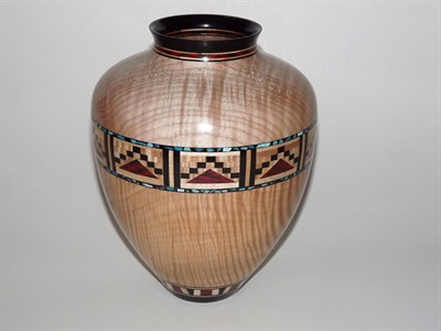 by: Submitted Photo - One of the wooden bowls by John Scheideman which will be featured in the show.