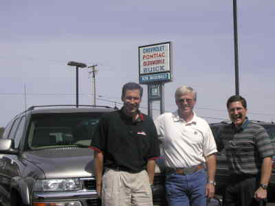 by: Photo By Susan Matheny - New owners Scott Adkisson, Denny Story and Joe McDonald.