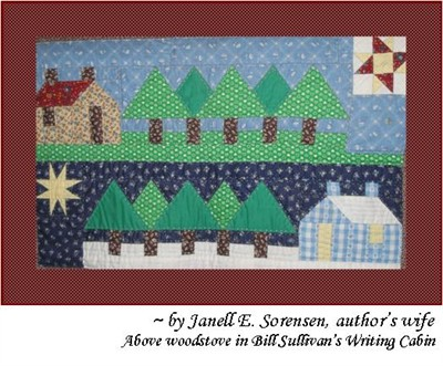 by: Submitted Photo - A quilt by the community read author's wife Janell Sorenson will be on exhibit in April.