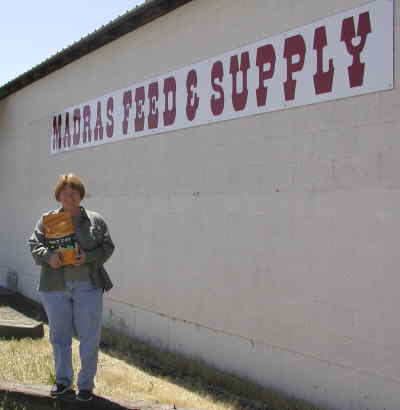 by: Photo By Susan Matheny - Cindy Peterson owns Madras Feed and Supply with her husband Rick.