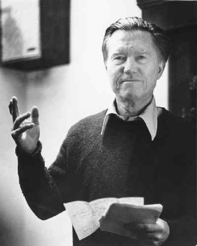 by: Submitted Photo - Former Oregon Poet Laureate William Stafford.