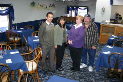 by: Photo By Susan Matheny - Silverado owners Danny and Mary Bueno, on left, with managers Tricia Fossett and  Russ Horn on right, stand in the remodeled dining room of the Silverado Eatery.