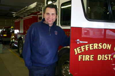 by: Photo By Susan Matheny - JCFD fire captain Bob Sjolund will be a battalion chief in Redmond.