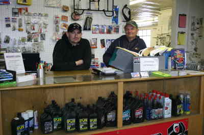 by: Photo By Susan Matheny - Josh Hebard, left, the shop foreman, and owner John Campbell at the new shop.