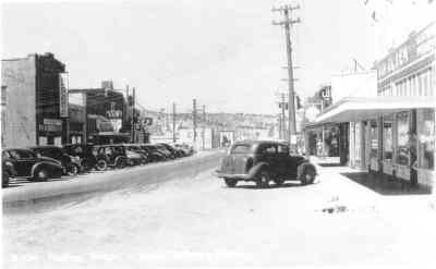 by: J.C. Historical Society photo - Downtown Madras in the 1930s.