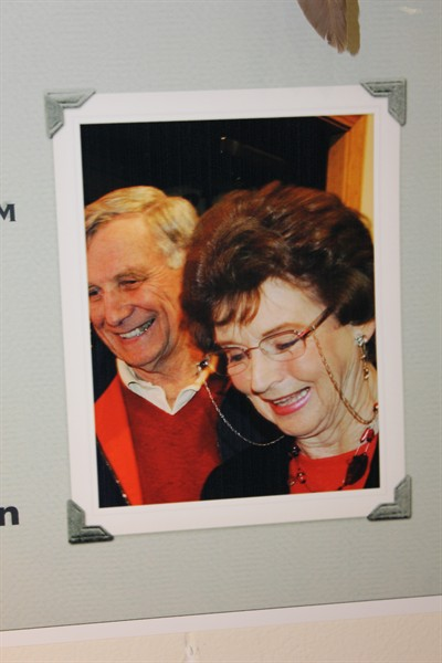 by: Submitted Photo - This photo of Jim and Diane Ramsey will go on a plaque in the gallery.