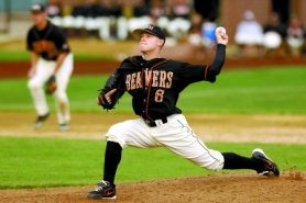 by: Courtesy, Kevin Gunderson came to OSU and became the best closer in school history.