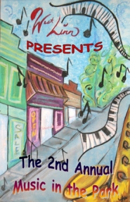 by: Submitted photo, Lauren McKenzie's winning poster for the Music in the Park concert series