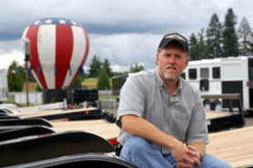 by: Barbara Adams, Mark Nichols is co-owner and general manager at Trailer City on Highway 26 and Haley Road between Gresham and Sandy.