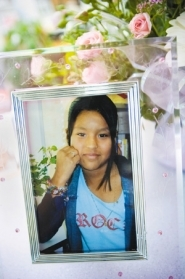 by: Contributed photo, Davis Elementary fifth-grader Clara Elias Ascencio drowned in Roslyn Lake on Saturday.