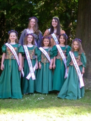by: Anthony Roberts, The 2006 Maid Marian Court.