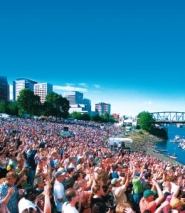 by:  Kevin Anspach, The Safeway Waterfront Blues Festival from today through Tuesday at Tom McCall Waterfront Park (file photo).