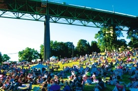 by: File, If the North Portland Greenway is completed, it will be easier than ever for music fans to bike to the annual Cathedral Park Jazz Festival, and for St. Johns residents and other North Portlanders to bike to jobs on Swan Island and downtown.