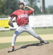 by: David Ball, Centennial pitcher T.J. Anderson started at pitcher before moving to center field in the sixth inning Saturday.