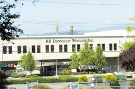 by: John Klicker, R.R. Donnelley's Gresham plant on Halsey Street is set for a $14 million expansion thanks to city's tax abatement program.