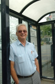 by: Vern Uyetake, Lake Oswego resident Al Sztejter has been named TriMet Rail Operator of the Year.