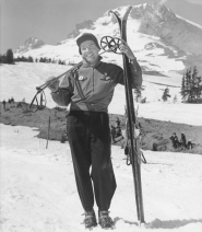 by: George Henderson and Friends of Timberline, George Henderson on the south side of Mount Hood in 1939. Now 91, the Portland resident spent most of his first 30 years in lthe mountains of Montana, Idaho and Oregon.
