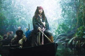 by: Peter Mountain, Even Johnny Depp's Captain Jack Sparrow doesn't satisfy in the disappointing