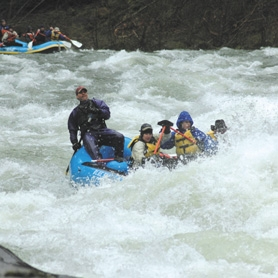 by: contributed, Whitewater rafting on the Clackamas River is a popular summer sport.
