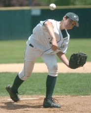 by: DAN BROOD, POWER PITCHER — Jeff Robinson struck out 14 batters in Tigard's 12-3 win over Sun Creek in district play.