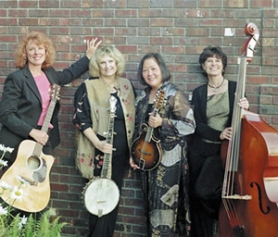 by: conributed photo, The Misty Mamas will perform at 11 a.m. at the Troutdale Bite & Bluegrass Festival on Saturday.