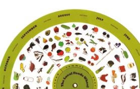 by: Special to, Ethical eaters in the Bay Area can take a spin around a well-researched food wheel to know what's in season locally and what's available year-round.