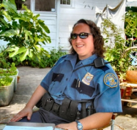 by: Merry MacKinnon, Portland Police Officer Heidi Helwig is the new Neighborhood Response Team (NRT) Officer for Woodstock,  Brooklyn, Eastmoreland, Sellwood and Westmoreland, Reed,and Ardenwald. She encourages the community to communicate with her about crime  concerns.