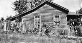 by: , Courtesy of the Oregon Historical Society, this old photo of Mildred Smith's house at S.E. 16th and Ellis Streets--the closest we could find to the address housing a cow on Ellis in 1931--suggests a rural lifestyle which continued in parts of Sellwood and Westmoreland well into the 20th Century.